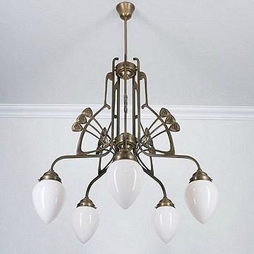 Art Nouveau Chandeliers