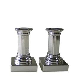 Set of 2 Candlesticks Empire 12 cm