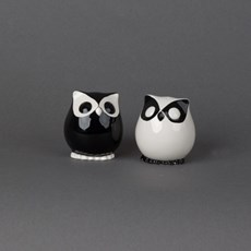 Salt and Pepper Shakers Owls