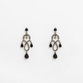 Earrings Salsa Onyx