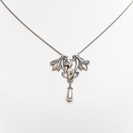 Lady with Dragonflies Necklace