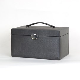 Jewellery Case Highlight Black