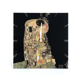 Wall Clock Klimt The Kiss