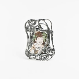 Silver Picture Frame Lily