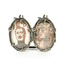 Deux Silver Photo Frame
