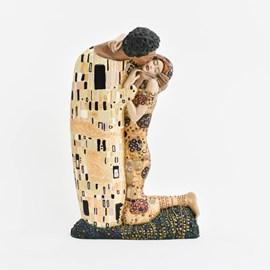 Klimt Sculpture The Kiss Large