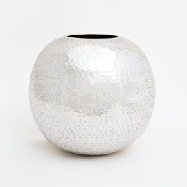 Silver Moon Vase Memphis