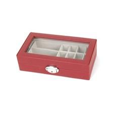 Jewellery Bead/Pearl Case Noa Red