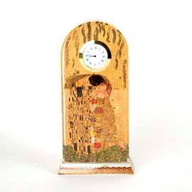 Table Clock The Kiss