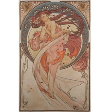 Tapestry Mucha La Danse