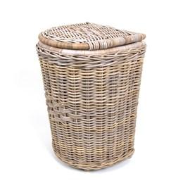 Laundry Basket Hemisphere Grey