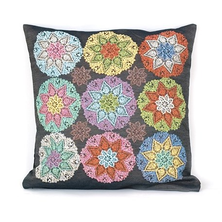 Cushion Crochet Semi