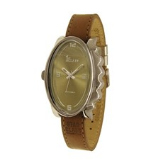 Watch Glossy Oval Brown