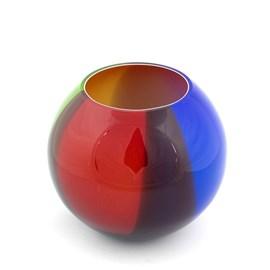 Glass Globe Vase Orb