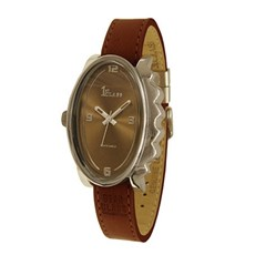 Watch Glossy Oval Dark Brown