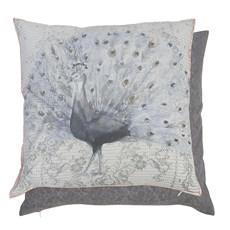 Cushion Grey Peacock