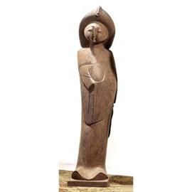 Chinese Maiden Sculpture