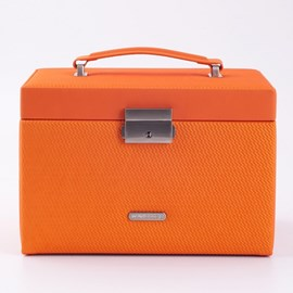 Jewellery Box Fiesta Orange