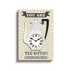 Clock Tea-riffic
