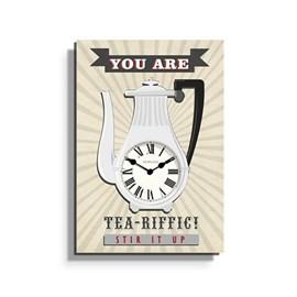 Clock Tea-riffic