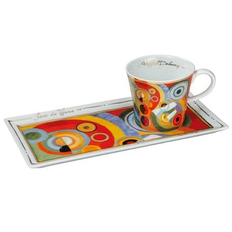 Coffee Set Delaunay