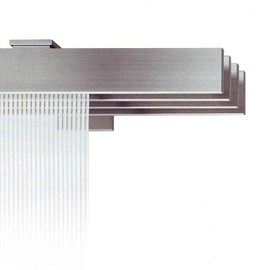 Wall-Mounted Panel System Stainless Steel
