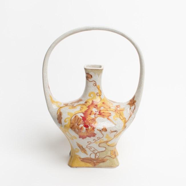 Jugendstil Vase Summer Glow