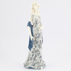 Sculpture Lady in Blue