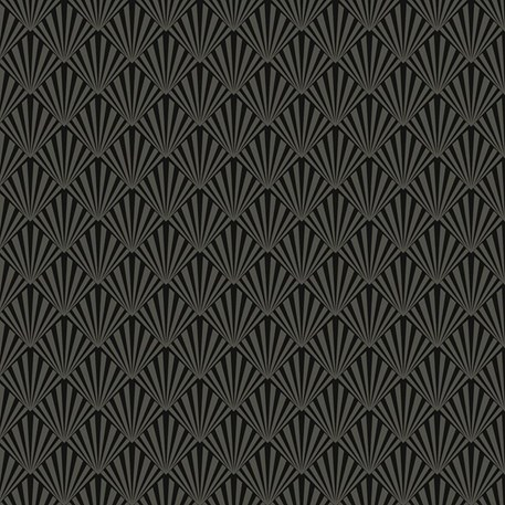 Art Deco Wallpaper Gatsby In Black
