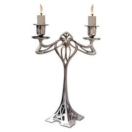 Candlestick Eiffel Sweetheart 2-armed