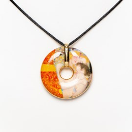 Necklace Klimt - The Three Ages of Woman