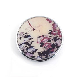 Compact Mirror Bellflower and Dragonfly