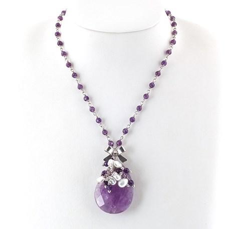 Necklace Amethyste