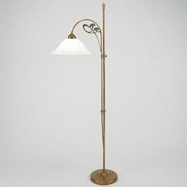 Floor Lamp / Reading Lamp Jugendstil Cow Parsley