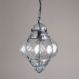 Venetian Hanging Lamp Small Bellezza Clear