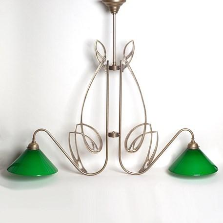 T Hanging Lamp Double Nouveau