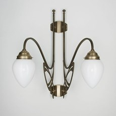 Victor Horta 2-lights Wall Lamp Elegance