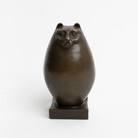 Art Deco Sculpture Persian Cat
