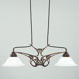 T-Lamp Jugendstil Fluitekruid