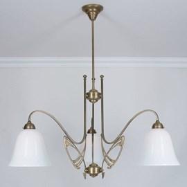 Victor Horta 3-light Chandelier Elegance
