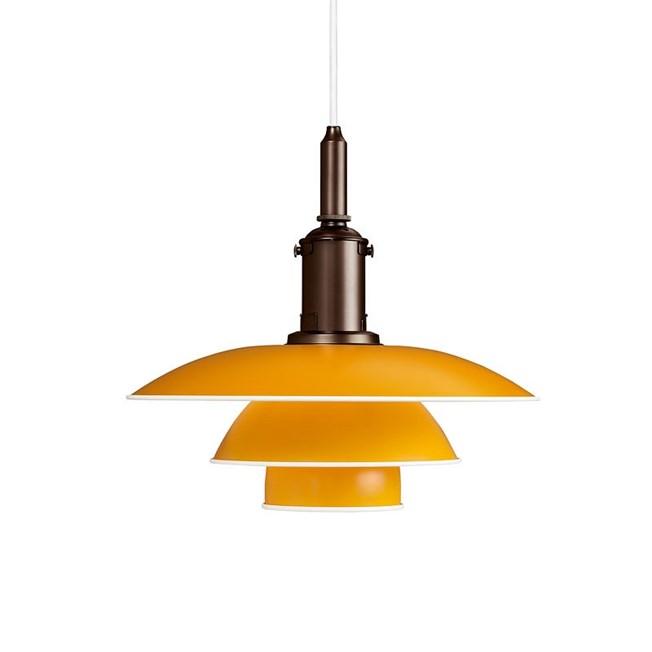 Louis Poulsen PH 3½-3 Hanging Lamp in yellow