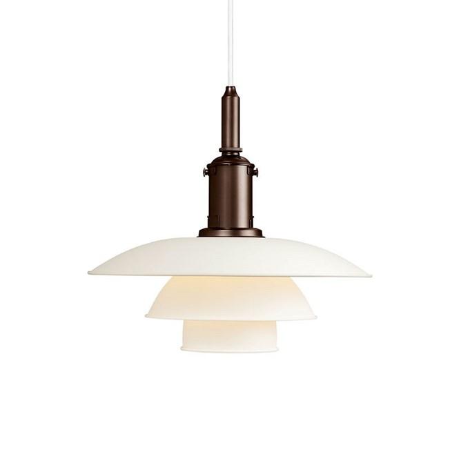 Louis Poulsen PH 3½-3 Hanging Lamp in white
