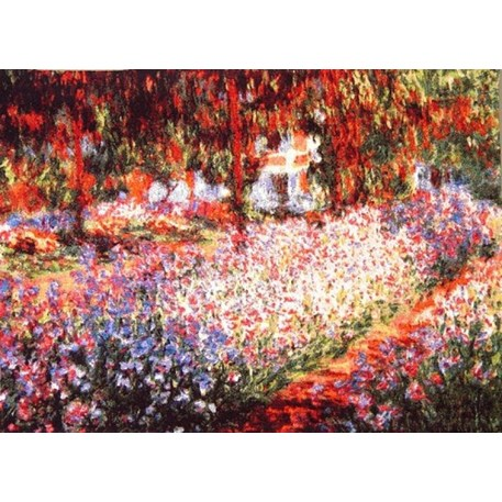 Tapestry Irises in Monet's Garden