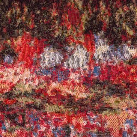 Detail Tapestry Irises in Monet's Garden