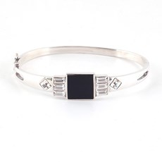 Art Deco Bracelet Square