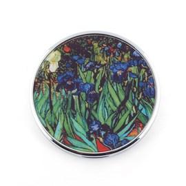 Compact Mirror Van Gogh - Irises