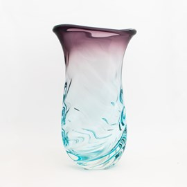 Vase Crystal Blue