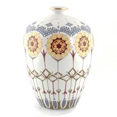 Art Nouveau Vase Flowers in the Sun