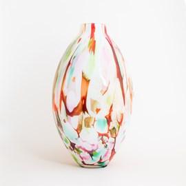 Oval Vase Colour Mix