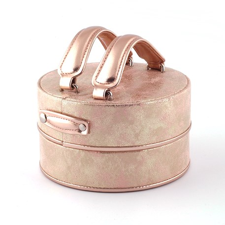 Jewelry Box Yin and Yang Golden Pink